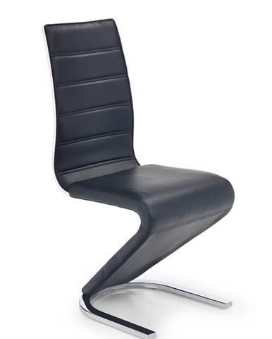 K194 jedálenská stolička čierna