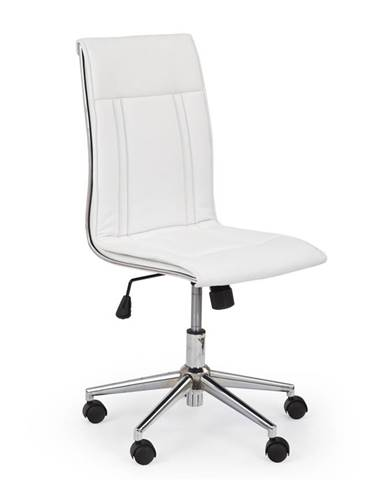 Porto kancelárska stolička biela