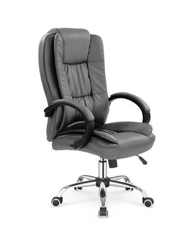 Relax kancelárske kreslo s podrúčkami sivá