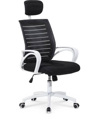 Socket kancelárska stolička s podrúčkami čierna