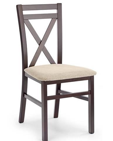 Dariusz jedálenská stolička tmavý orech