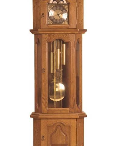 Gubernator rustikálne stojace hodiny s kyvadlom drevo D3