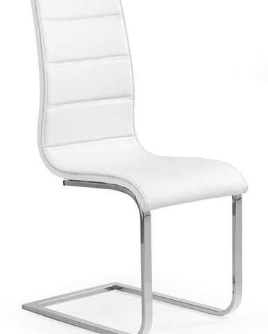 K104 jedálenská stolička biela