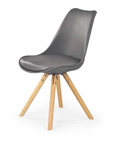 K201 jedálenská stolička sivá