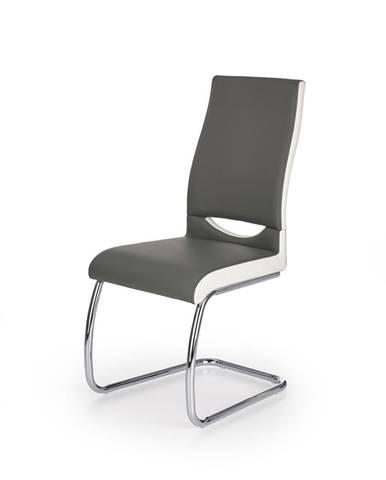 K259 jedálenská stolička sivá
