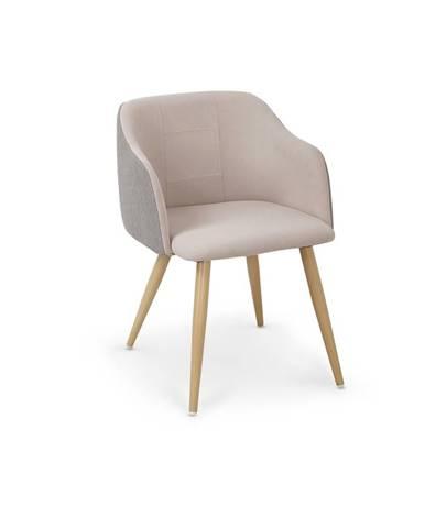 K288 jedálenská stolička svetlosivá