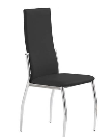 K3 jedálenská stolička čierna