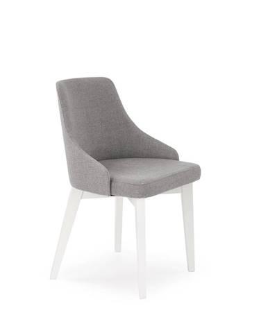 Toledo jedálenská stolička biela