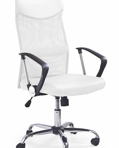 Vire kancelárska stolička s podrúčkami biela