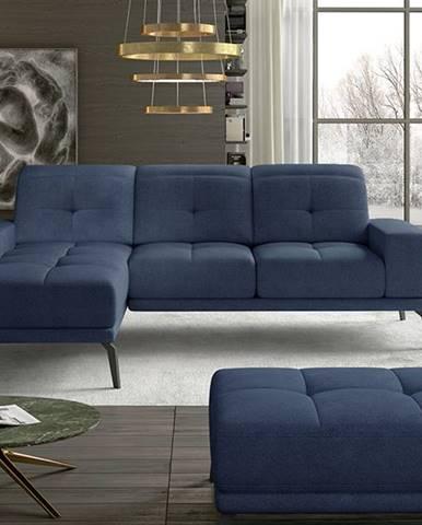 Tirreno L rohová sedačka modrá (Soro 76)