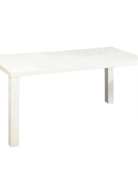Tempo Kondela Asper Typ 1 New rozkladací jedálenský stôl biely lesk