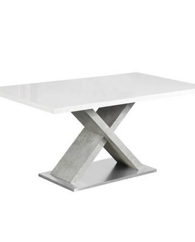 Farnel 160 jedálenský stôl biely lesk