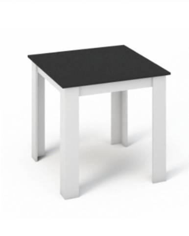 Kraz jedálenský stôl 80x80 cm biela