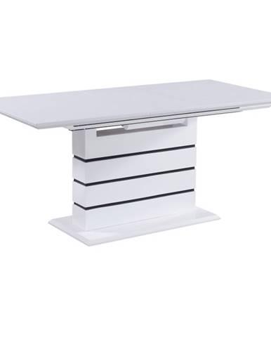Medan rozkladací jedálenský stôl biela