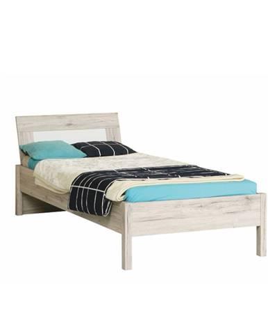 Valeria 9 90 jednolôžková posteľ dub pieskový