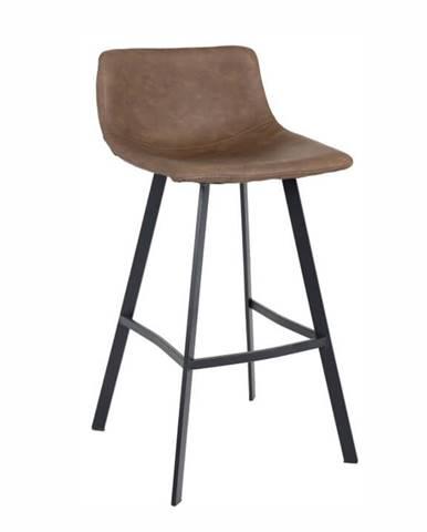 Falun barová stolička tmavohnedá