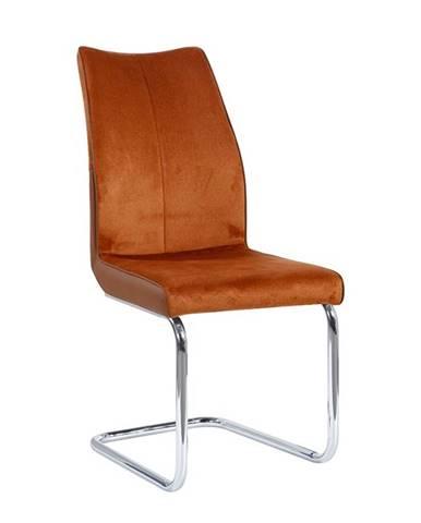 Farula jedálenská stolička tehlová
