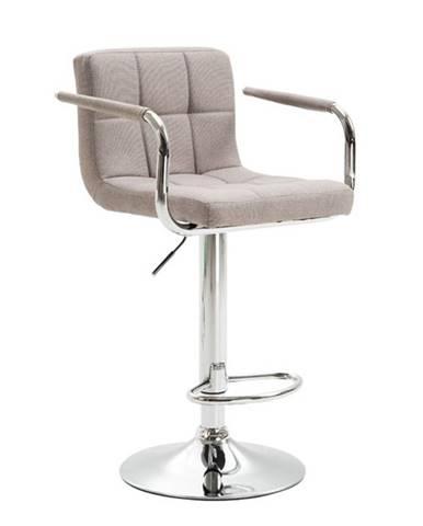 Leora 2 New barová stolička sivohnedá taupe