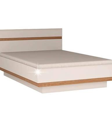 Lynatet 92 160 manželská posteľ biela
