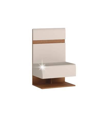 Lynatet 95 nočný stolík biela