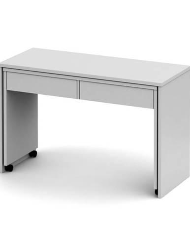 Versal New rozkladací pc stolík biela