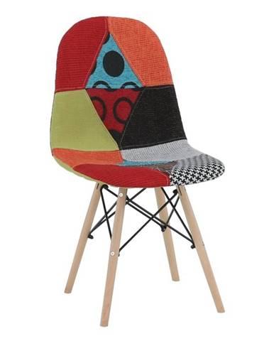 Candie 2 New Typ 2 jedálenská stolička vzor patchwork