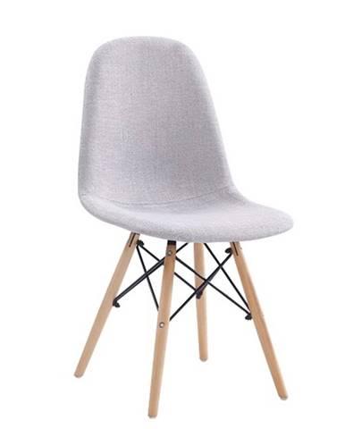 Darela New jedálenská stolička svetlosivá