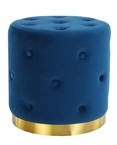 Leonid taburetka kráľovská modrá