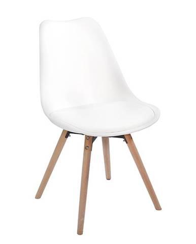 Semer New jedálenská stolička biela