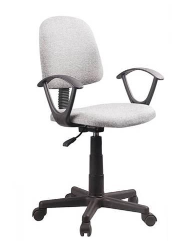 Tamson kancelárska stolička s podrúčkami sivá