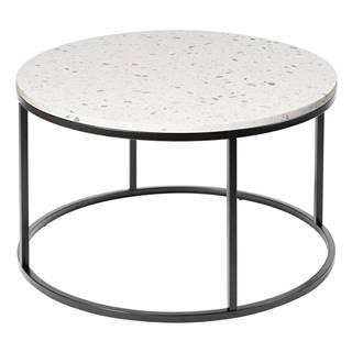 Konferenčný stolík s kamennou doskou RGE Cosmos, ø 85 cm