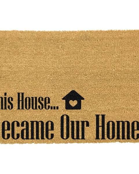 Artsy Doormats Rohožka z prírodného kokosového vlákna Artsy Doormats Our Home, 40 x 60 cm