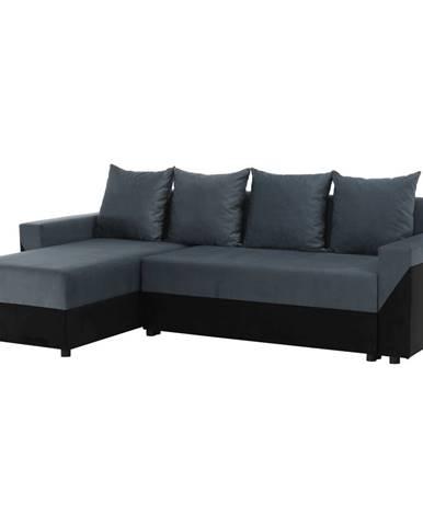 Univerzálna sedacia súprava čierna/sivá TIPO
