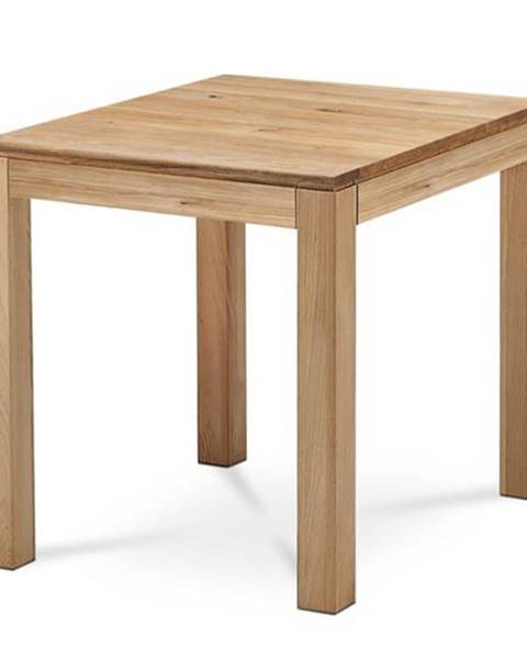 Sconto Jedálenský stôl KINGSTON dub, šírka 80 cm