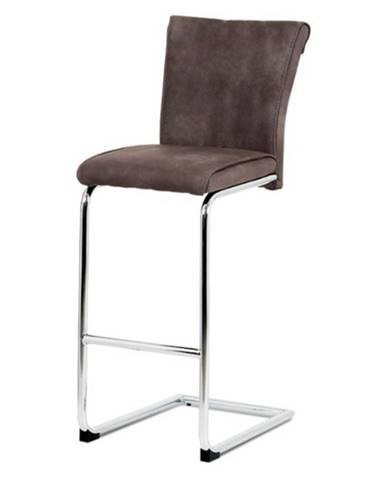 Barová stolička LUISA hnedá