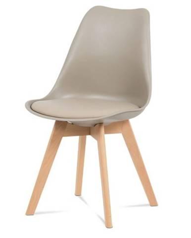 Jedálenská stolička SABRINA cappuccino