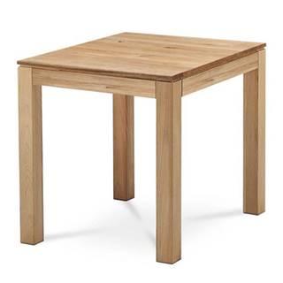 Jedálenský stôl KINGSTON dub, šírka 80 cm
