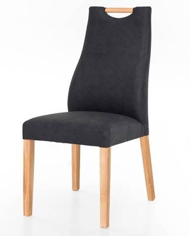 Jedálenská stolička NAILA dub/antracit