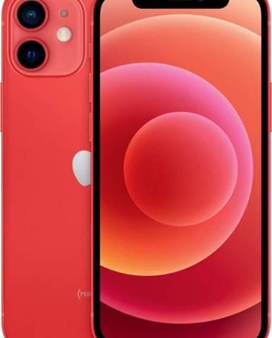Mobilný telefón Apple iPhone 12 mini 256GB, červená