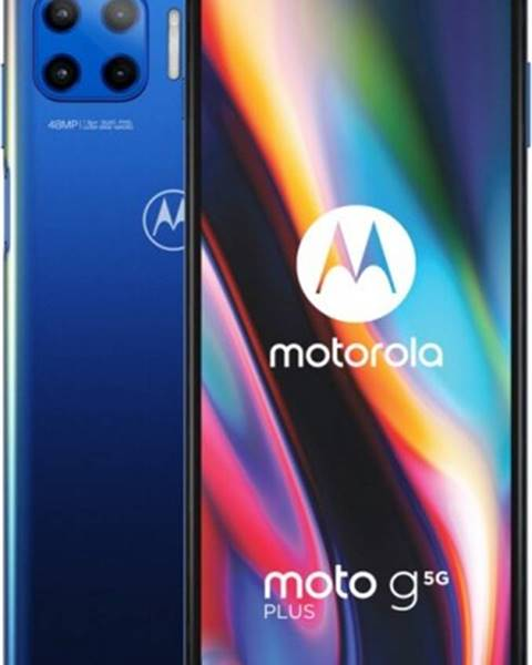Motorola Mobilný telefón Motorola G 5G Plus 6 GB/128 GB, modrý
