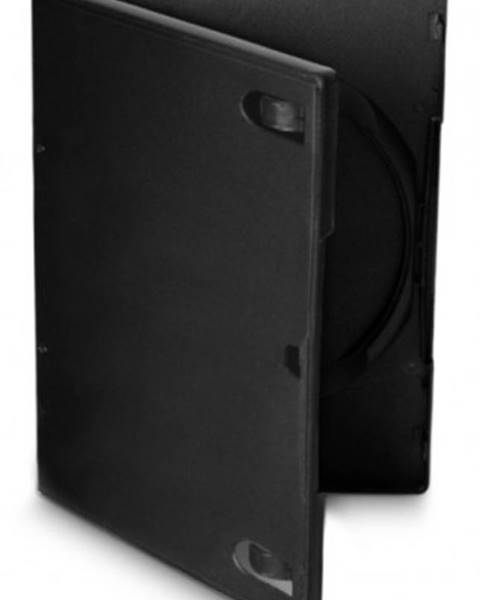 Cover IT Box na DVD COVER IT, 10 ks/bal, čierny