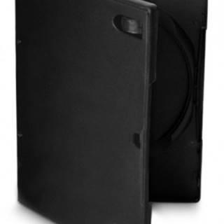 Box na DVD COVER IT, 10 ks/bal, čierny