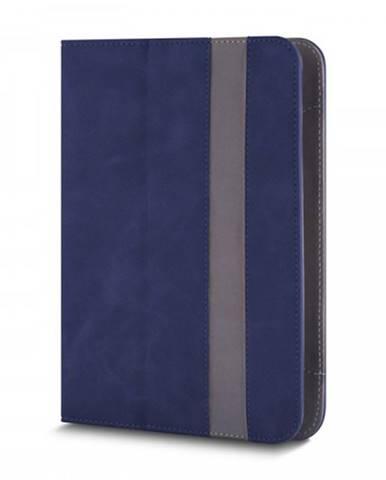 """Knižná puzdro Fantasia na tablet 7-8"""", modrá koža"""