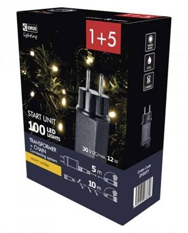 Sada vianočného osvetlenie Emos ZY2277, teplá biela, 10 m