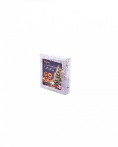 Vianočné osvetlenie Solight 1V215, retiazka s dekoráciami, 1m