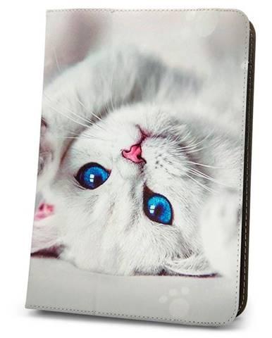 """Púzdro na tablet flipové GreenGo Cute Kitty na tablet 9-10"""""""