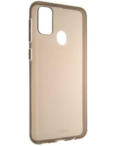Kryt na mobil Fixed Slim na Samsung Galaxy M21 - kouřový
