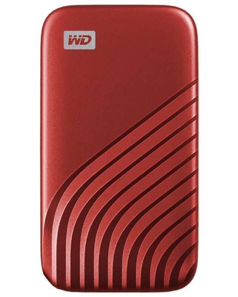 Western Digital SSD externý Western Digital My Passport SSD 1TB červený
