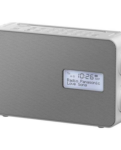 Rádioprijímač s DAB+ Panasonic RF-D30bteg-W biely