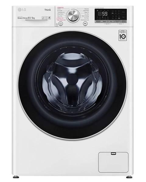 LG Práčka so sušičkou LG F2dv5s8s1 biela
